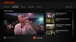 Back to VEVO: Music Videos on TV