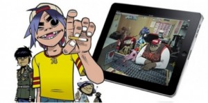 Gorillaz Do the iPad