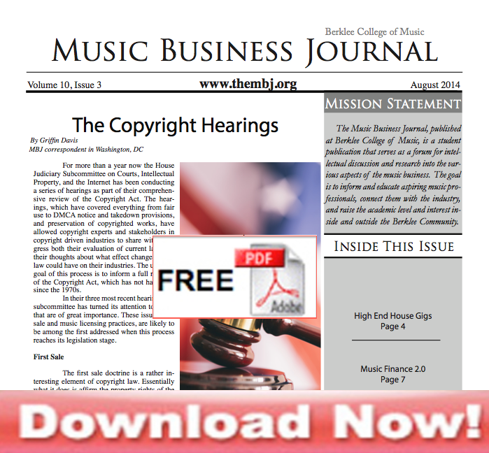 The Music Business Journal